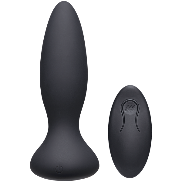 A-Play - RISE  - Rechargeable Silicone Anal Plug Black