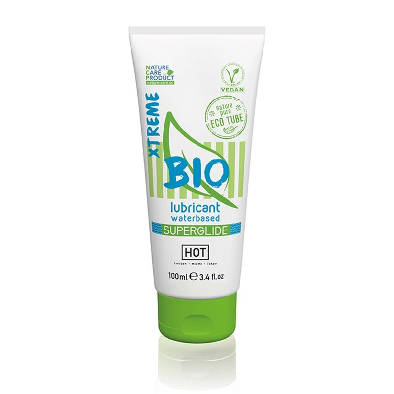 Hot Bio Lubricant Waterbased Superglide Xtreme 100ml
