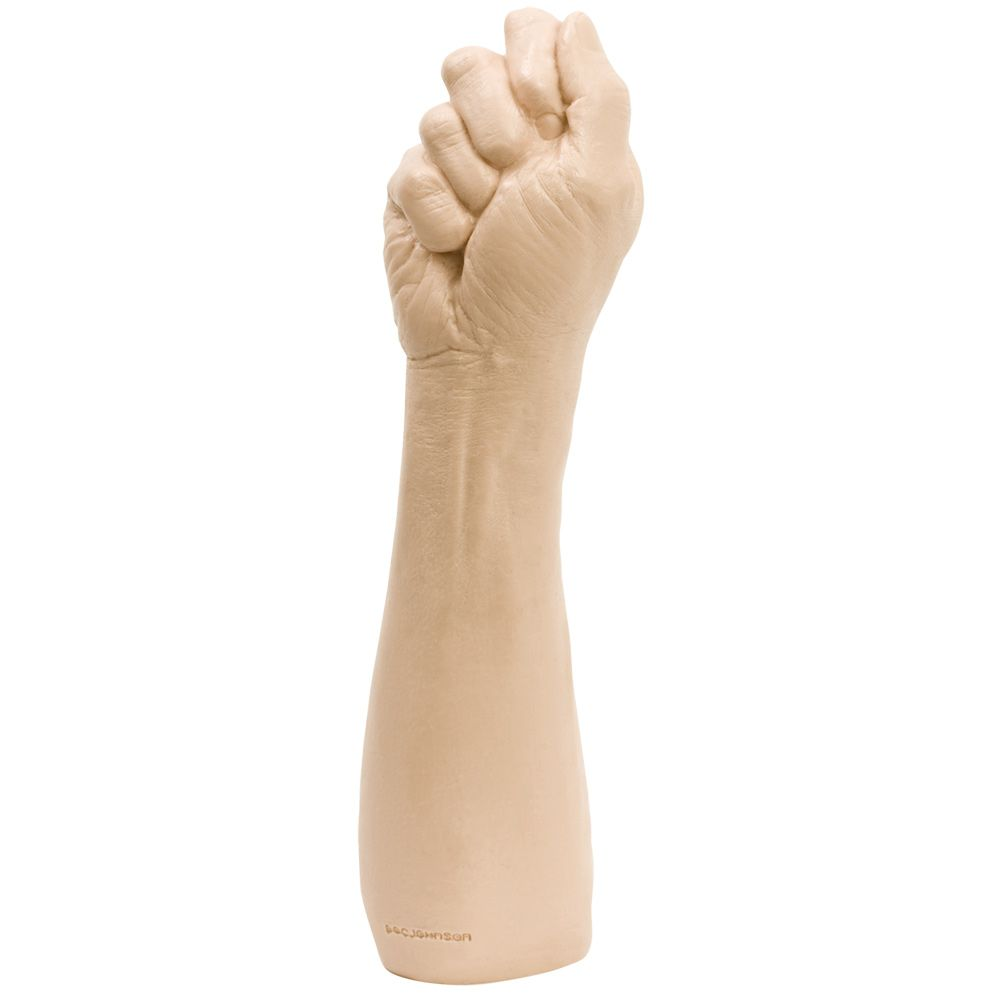 Doc Johnson The Fist 14 Realistic Fist & Forearm Flesh 14in
