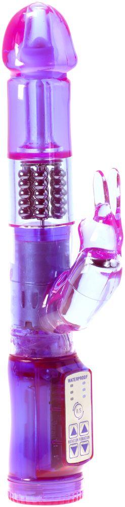 Me You Us Exotic Slim Rabbit Vibrator Purple