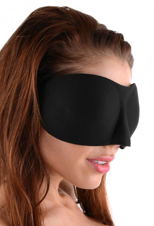 Deluxe Ergo Black-Out Blindfold