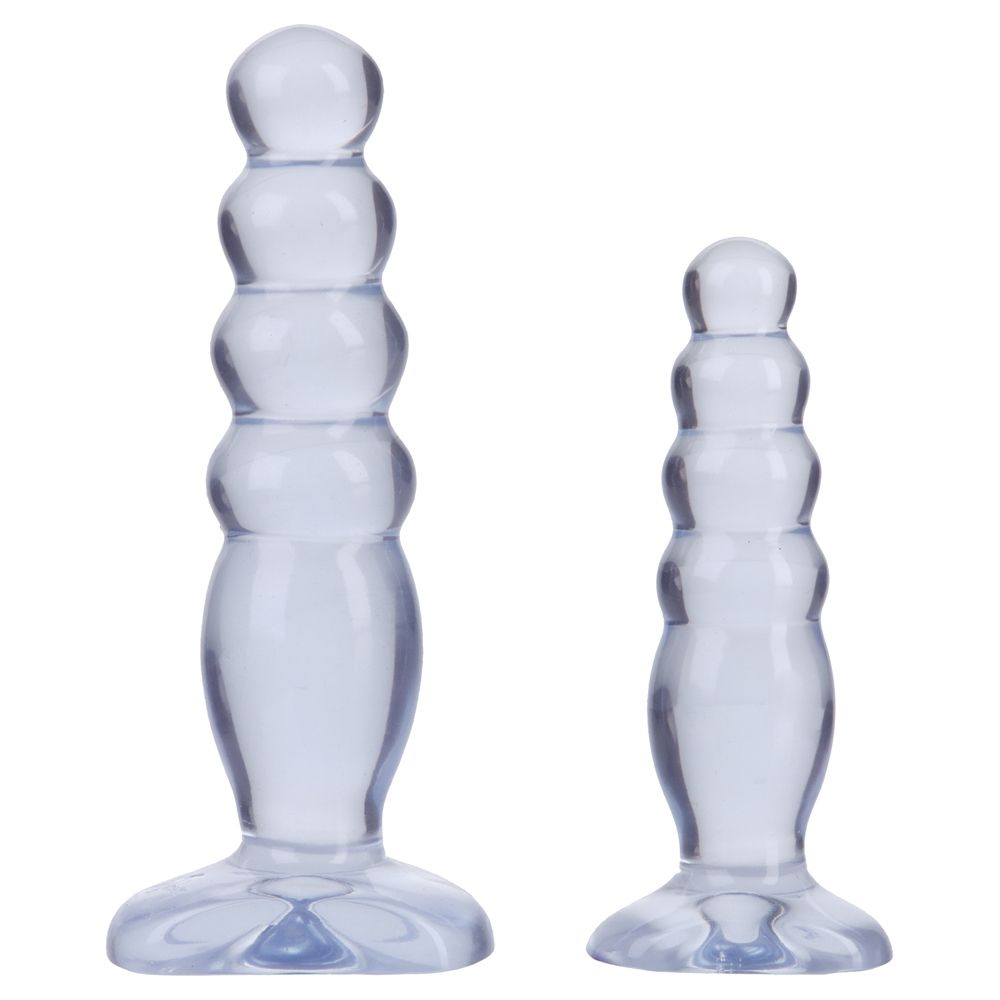Crystal Jellies Anal Trainer Kit Clear