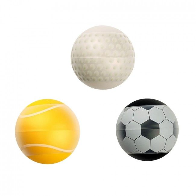 Me You Us Score Stroker Ball 3 Pack Clear/Multi