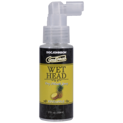 GoodHead - Wet Head - Dry Mouth Spray - Pineapple - 2 fl. oz.