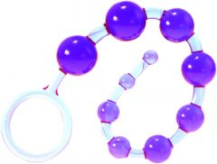 Me You Us Dragonz Tail Anal Beads Violet