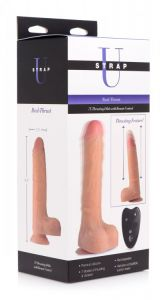 Real Thrust Thrusting and Vibrating Silicone Dildo