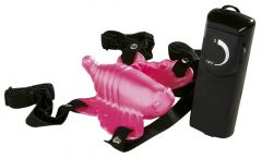 ABS Venus Butterfly Vibrator Pink