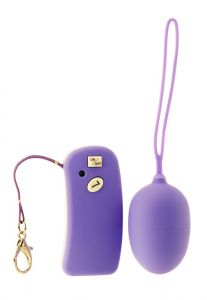 Me You Us Silky Touch Remote Egg Purple