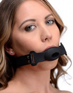 Hollow Silicone Gag