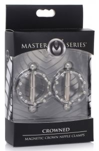 Crowned Magnetic Crown Nipple Clamps