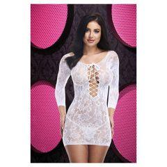 Lapdance LAce off the Shoulder Mini Dress White OS