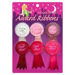 Kheper Games Bride To Be Award Ribbons Multi