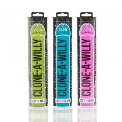Clone-A-Willy Glow In The Dark Vibrator Moulding Kit