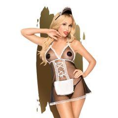 Penthouse Teaser Maid Dress Black M/L