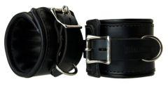 Padded Premium Leather Locking Wrist Res