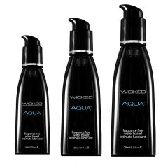 Wicked Sensual Care Aqua Water Based Lubricant