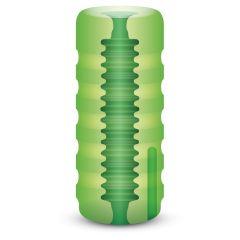 Zolo Original Squeezable Vibrating Stroker Vibrating Stroker Green Os