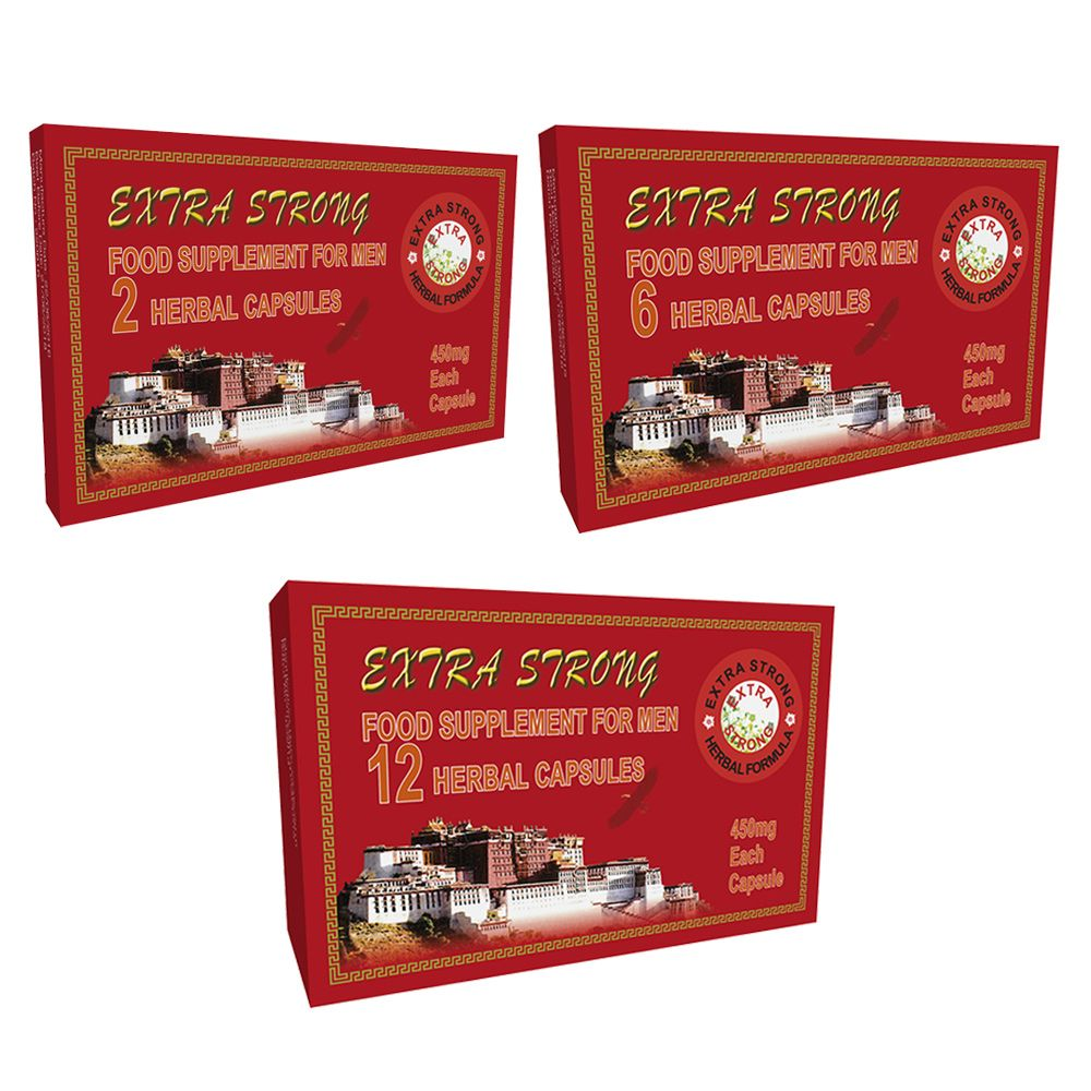 Extra Strong 450mg Male Tonic Enhancer