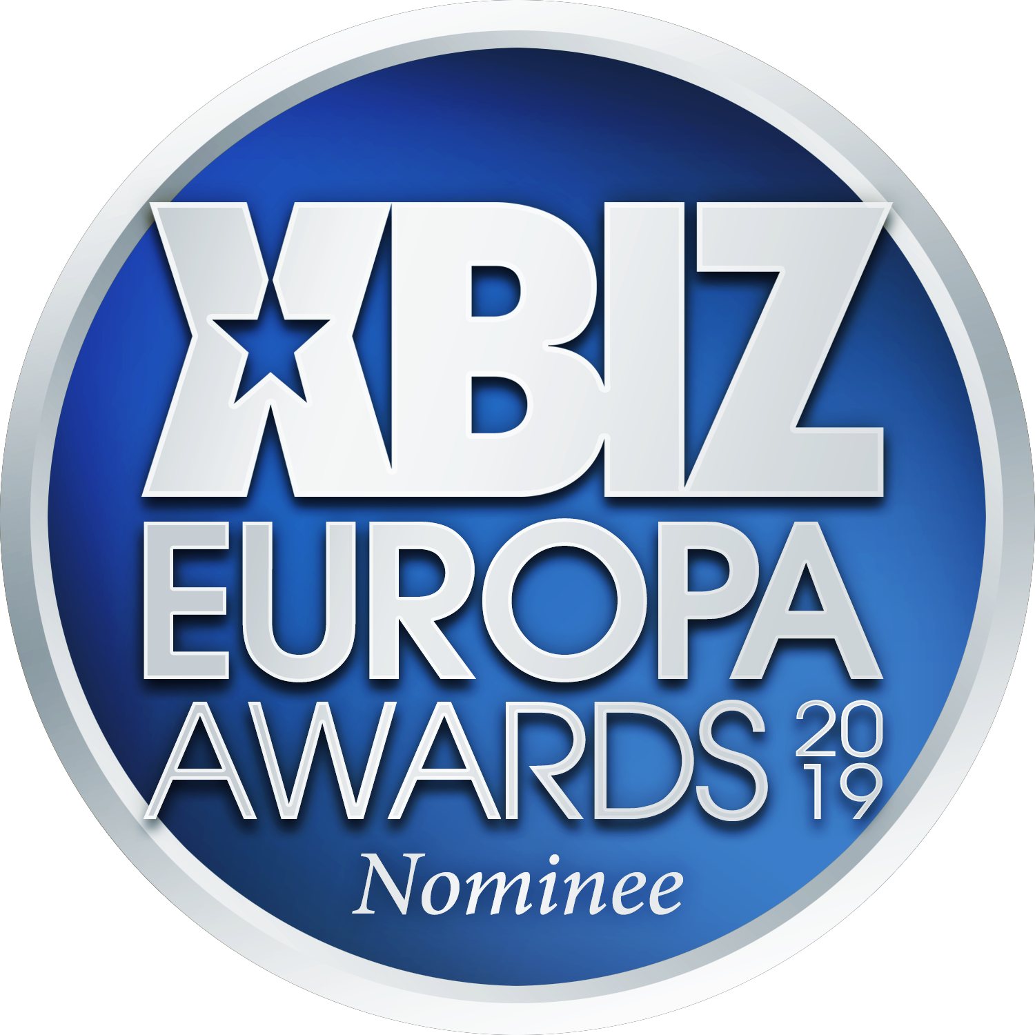 We've been nominated for Retailer of the Year in the 2019 XBIZ Europa Awards!